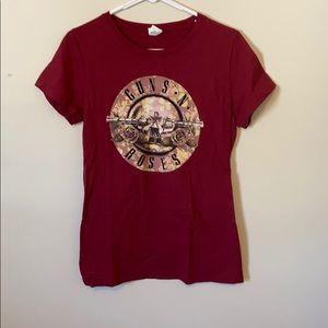 Guns N' Roses band tshirt
